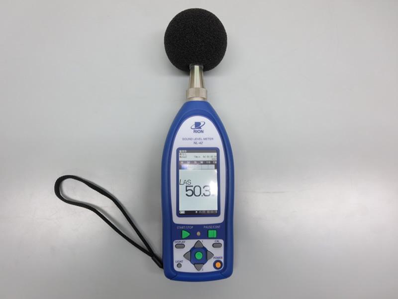 騒音計(RION NL-42)