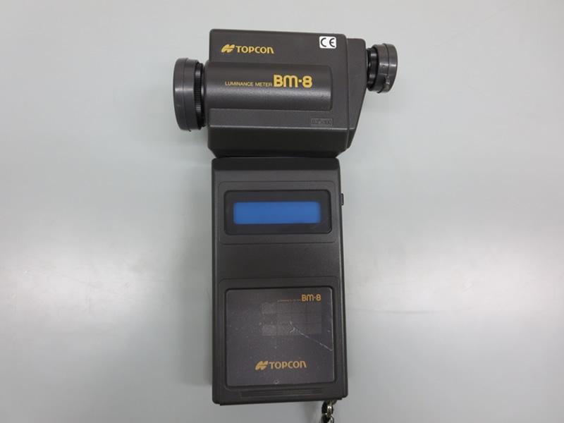 輝度計(TOPCON BM-8)